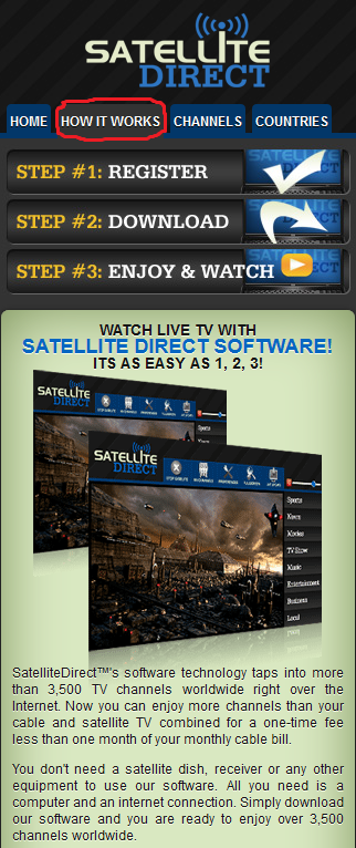SatelliteDirect Mobile2 Image